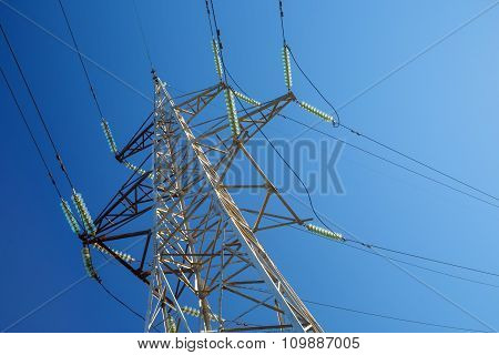 High-voltage Electricity Pylon