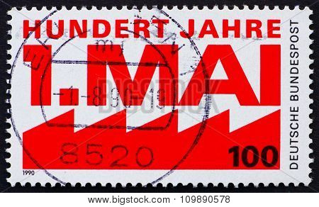 Postage Stamp Germany 1990 May Day