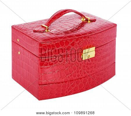 Red Box For Jewelry