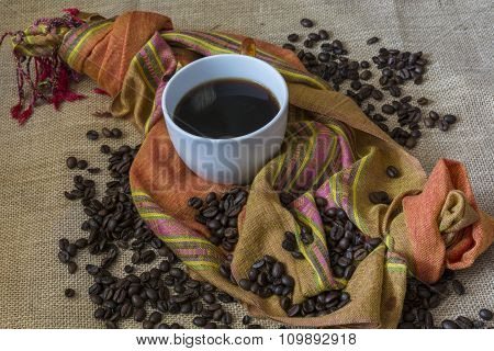 Coffee And Scarf