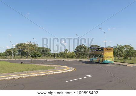 Itaipu dam park