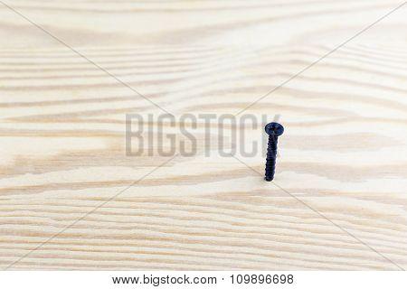 Screw In Wood