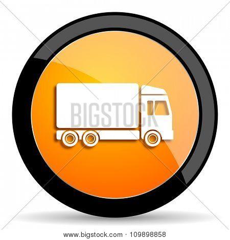 delivery orange icon