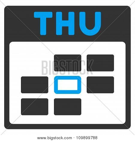 Thursday Flat Icon