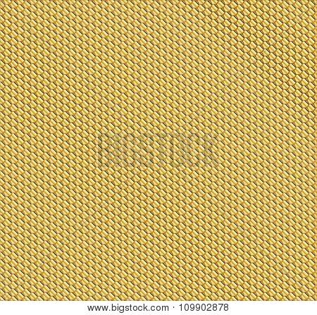 Gold Honeycomb Backdrop