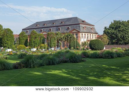 Orangerie in Darmstadt (Hessen, Germany)