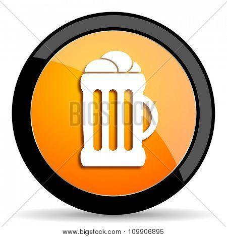 beer orange icon