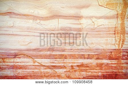 Surface Of A Sandstone, Natural Background Or Texture
