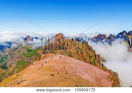 Pico Do Arieiro - Mountainous Landscape