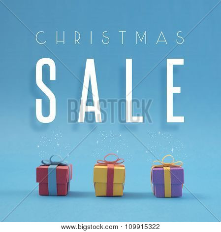 Christmas Sale Paper Cut Handmade Color Gift Shop