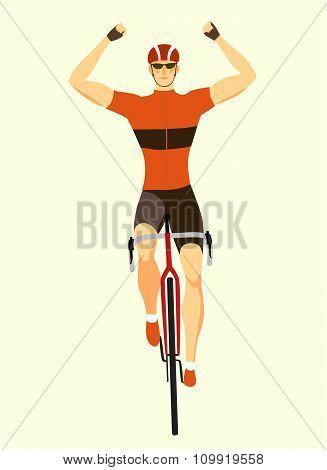 Winner Racing Cyclist