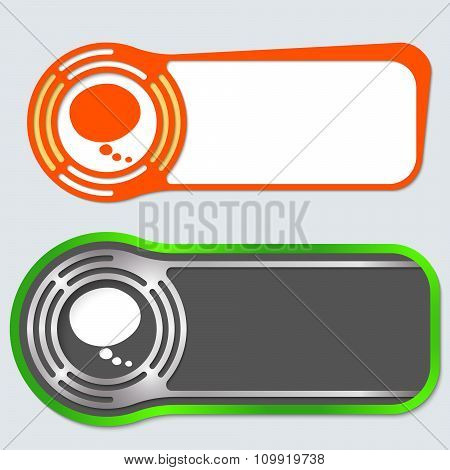 Abstract Buttons