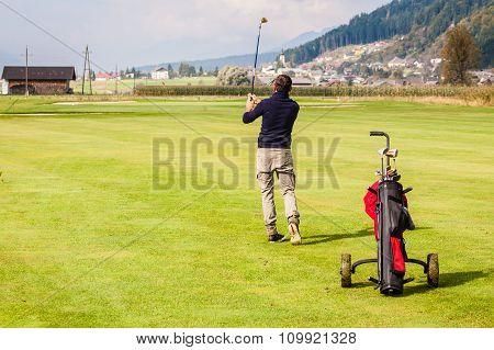 Far Golf Shot