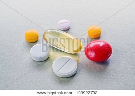 Pills And Tablets