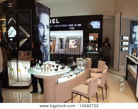 Cosmetics for sale on display, Bangkok, Thailand.