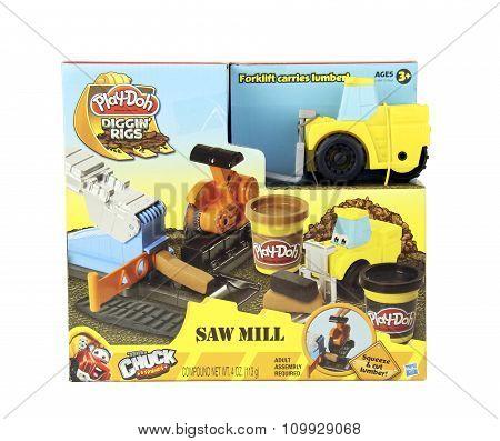 Play-doh Diggin Rigs Saw Mill Kit
