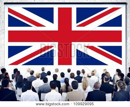 England Country Flag Nationality Culture Liberty Concept