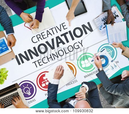 Creative Innovation Technology Ideas Inspiration Concept