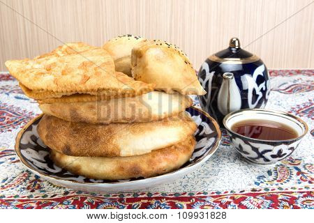 Baking In The Central Asian Cuisine
