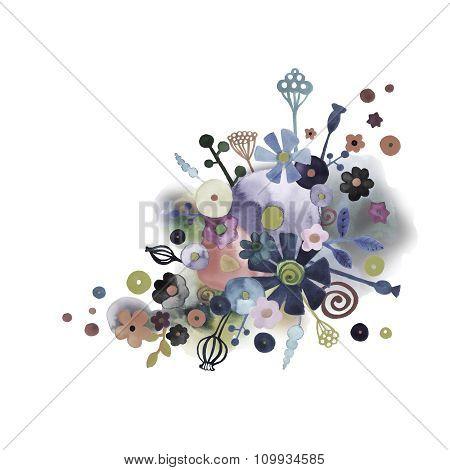 Watercolor Decorative Background 3