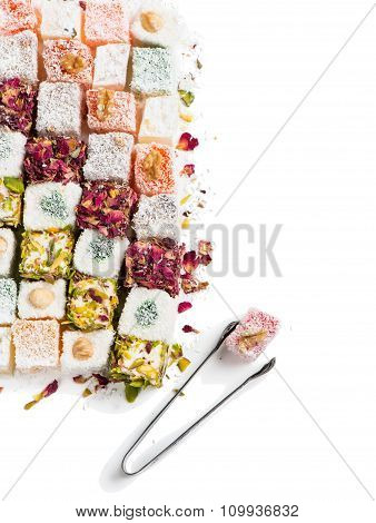 Pieces Of Turkish Delight, View From Above