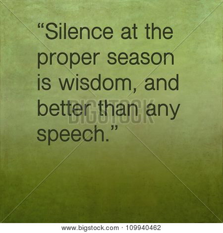 Inspirational quote by ancient Greek philosopher Plutarch on earthy background