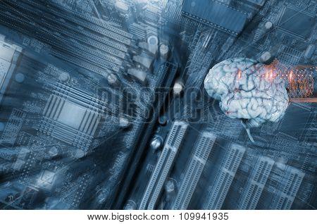 artificial intelligence, human brain, electronics and communication