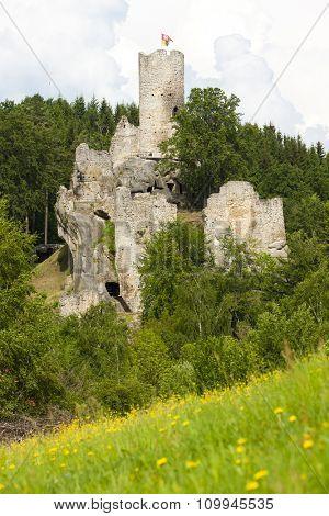 ruins of Frydstejn Castle, Czech Republic