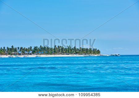 Malapascua island Cebu in Philippines