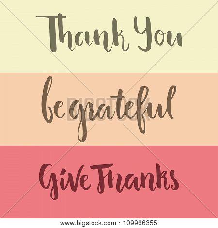 Grateful Lettering
