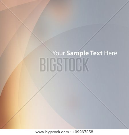 Abstract Background Template With Transparent Layers