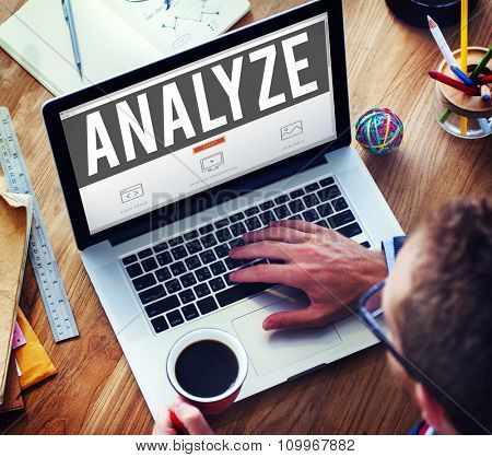 Analyze Analysis Data Information Planning Statistics Concept