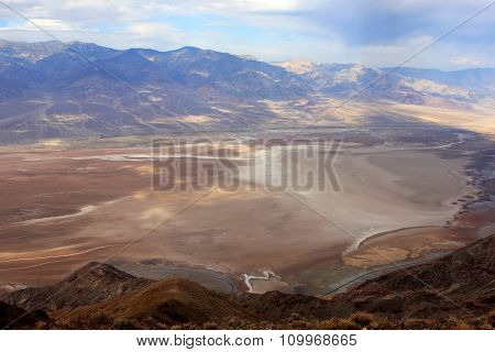 View from Dante point in Death Valley National Park, California, USA