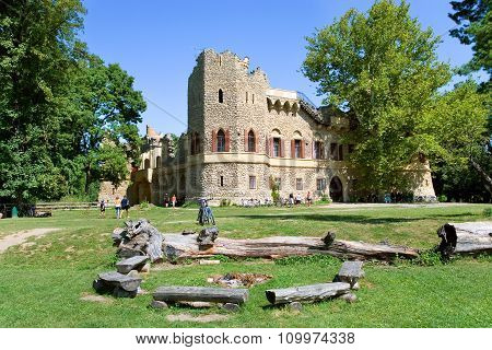 Castle Januv Hrad, Lednice Park (unesco), Czech Republic