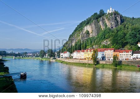 Shepherd´s Rock, Town Decin, Czech Republic