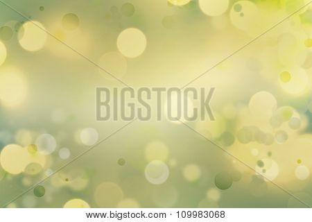 Yellow and green tone abstract background