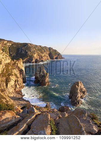 Rocks Of Cabo Da Roca Coast