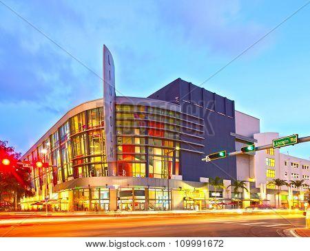 Lincoln Road architecture in Miami BEAch Florida