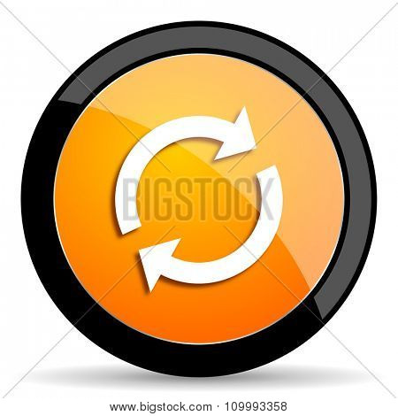 reload orange icon