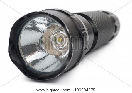 Black flashlight