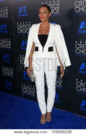 LOS ANGELES - MAY 31:  Mel B, Mel Brown at the 5th Annual Critics' Choice Television Awards at the Beverly Hilton Hotel on May 31, 2014 in Beverly Hills, CA
