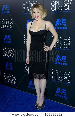 LOS ANGELES - MAY 31:  Eden Sher at the 5th Annual Critics' Choice Television Awards at the Beverly Hilton Hotel on May 31, 2014 in Beverly Hills, CA
