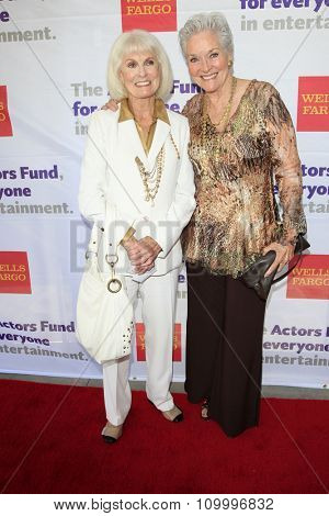 LOS ANGELES - JUN 8:  Bridget Hanley, Lee Meriwether at the 2014 Tony Award Viewing Party at the Taglyan Cultural Complex  on June 8, 2014 in Los Angeles, CA