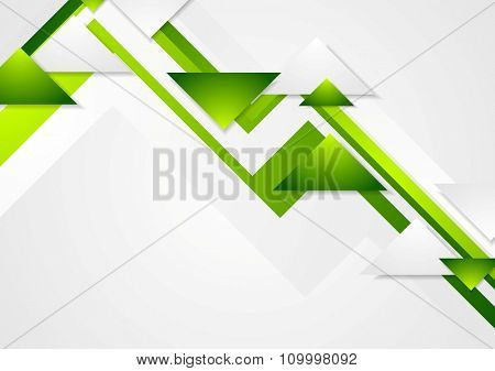 Abstract green tech corporate bright background. Vector design