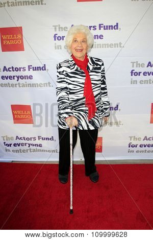 LOS ANGELES - JUN 8:  Charlotte Rae at the 2014 Tony Award Viewing Party at the Taglyan Cultural Complex  on June 8, 2014 in Los Angeles, CA