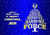 ������, ������: Christmas new year tree for real Jedi