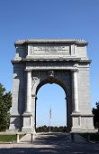 pic of revolutionary war  - This monument honors the Revolutionary War soldiers who endured the brutal winter of 1776 under General George Washington - JPG