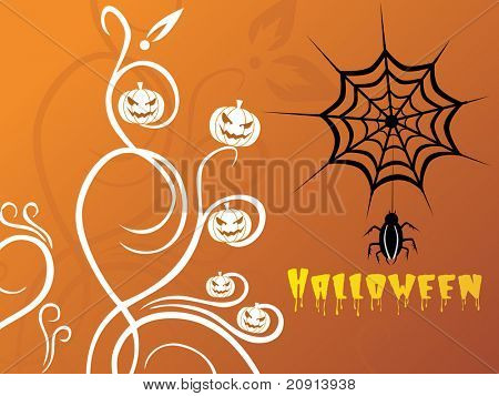 abstract halloween series design