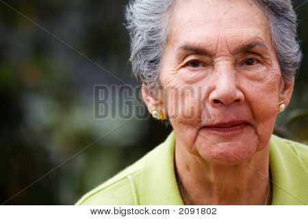 Beautiful Female Senior