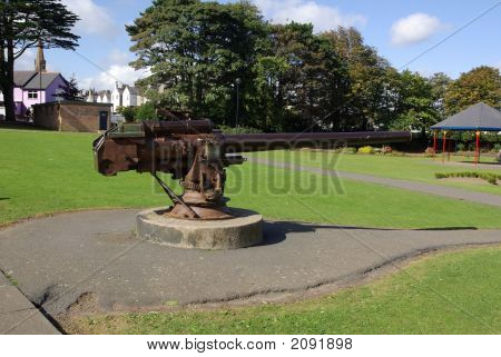 Ww1 U Boat Deck Gun